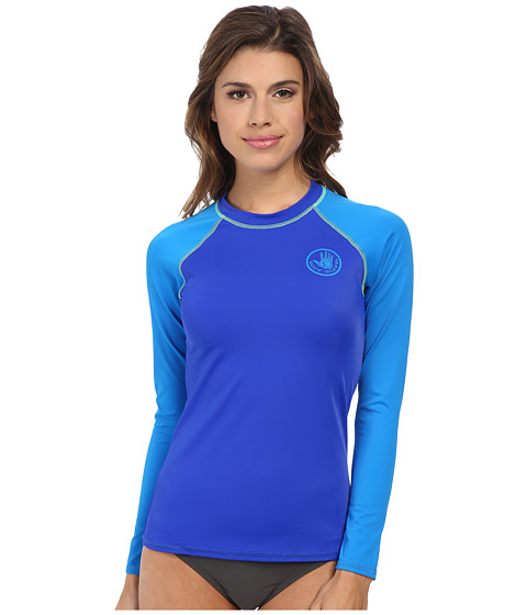 Body Glove - Smoothies Sleek Rashguard (Abyss) Women's Swimwear