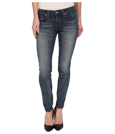 Big Star - Alex Midrise Skinny Jean in 14 Year Griffith (14 Year Griffith) Women