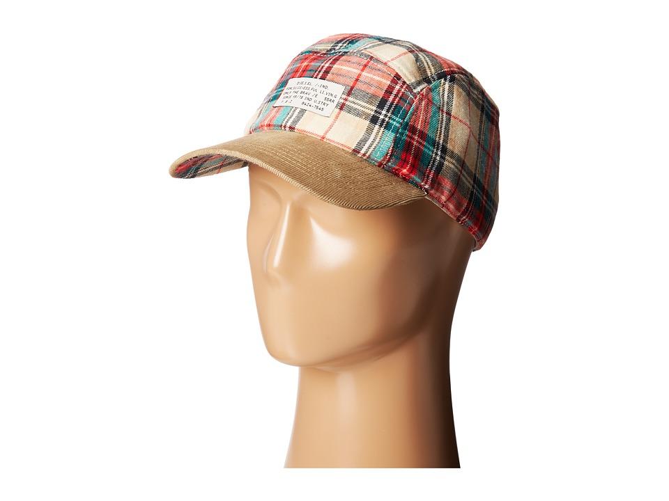 Diesel - Curiko Hat (Red) Caps