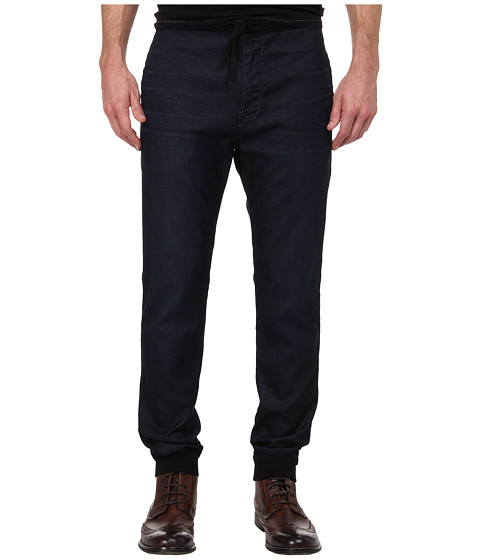 7 For All Mankind - Sportif Sweatpant in Dark Wash (Dark Wash) Men's Casual Pants