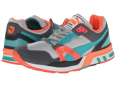 PUMA - Trinomic XT 2 Plus (Gray Violet/Steel Grey/Fluo Teal/Fluo Peach) Running Shoes
