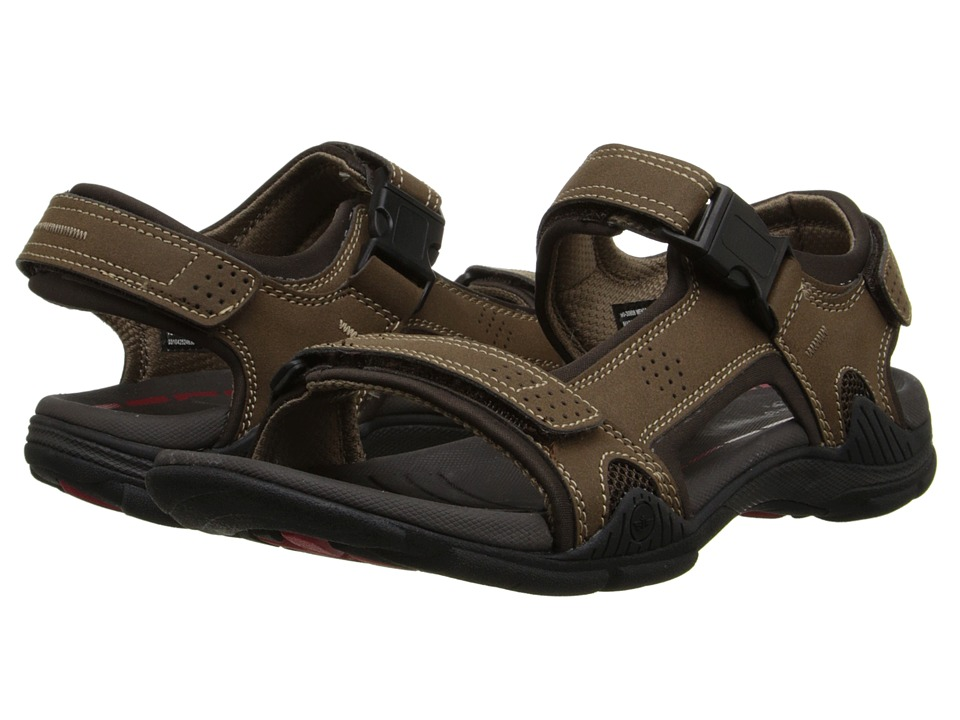 Dockers - Bonsall (Brown/Brown/Khaki) Men's Sandals