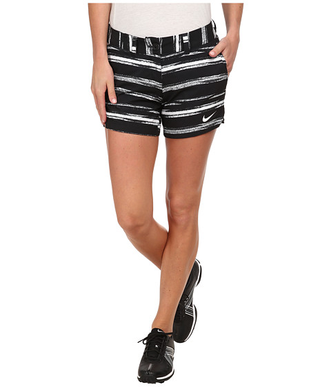 Nike Golf - Greens Shorty Short (Black/White/White) Women's Shorts