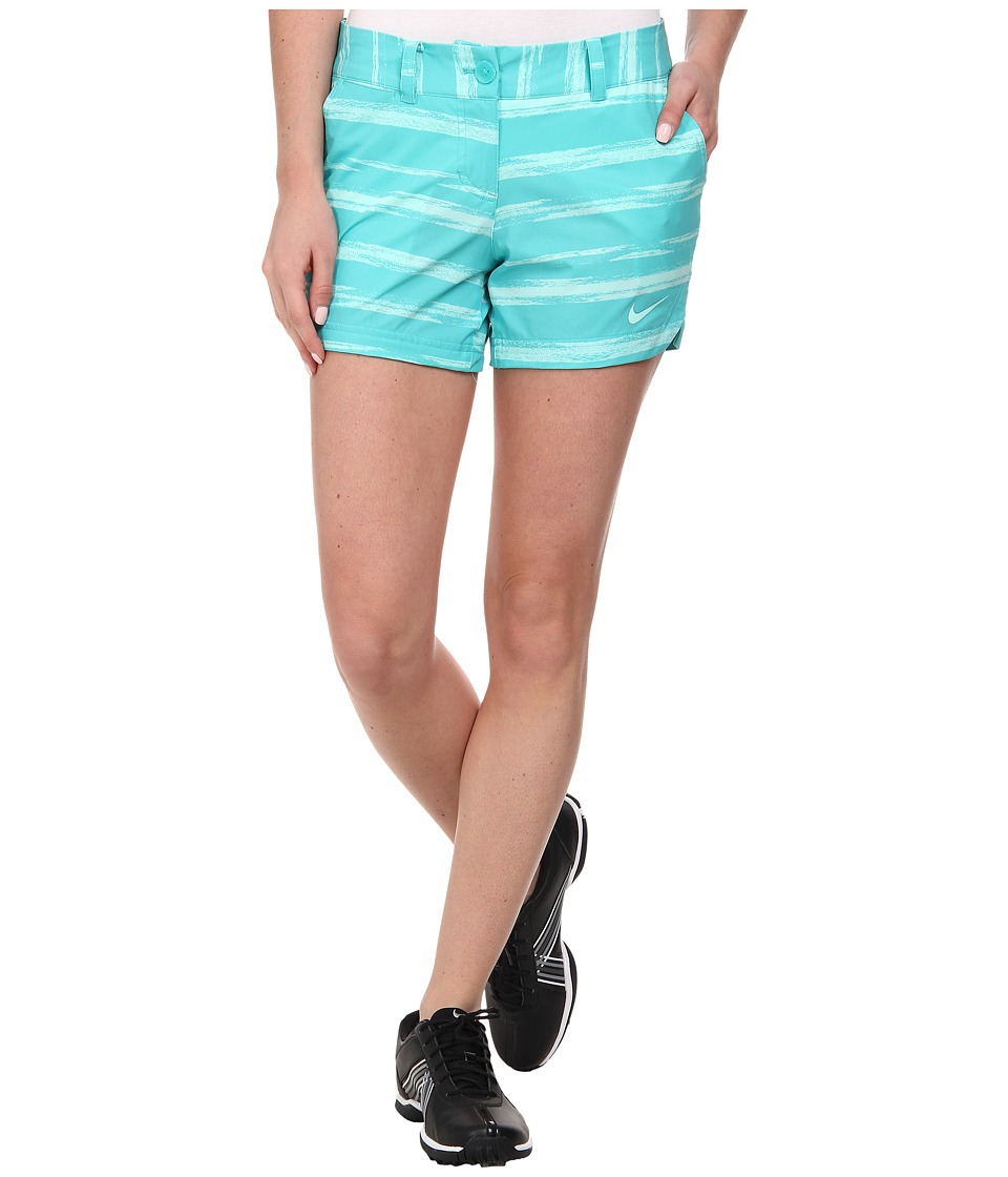 Nike Golf - Greens Shorty Short (Light Retro/Artisan Teal/Artisan Teal) Women's Shorts