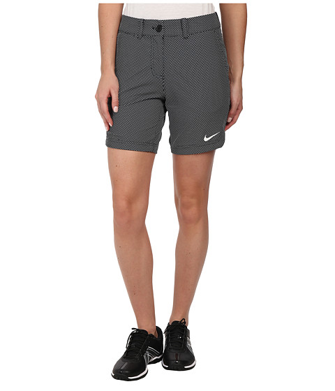 Nike Golf - Greens Dot Short (Black/White/White) Women's Shorts
