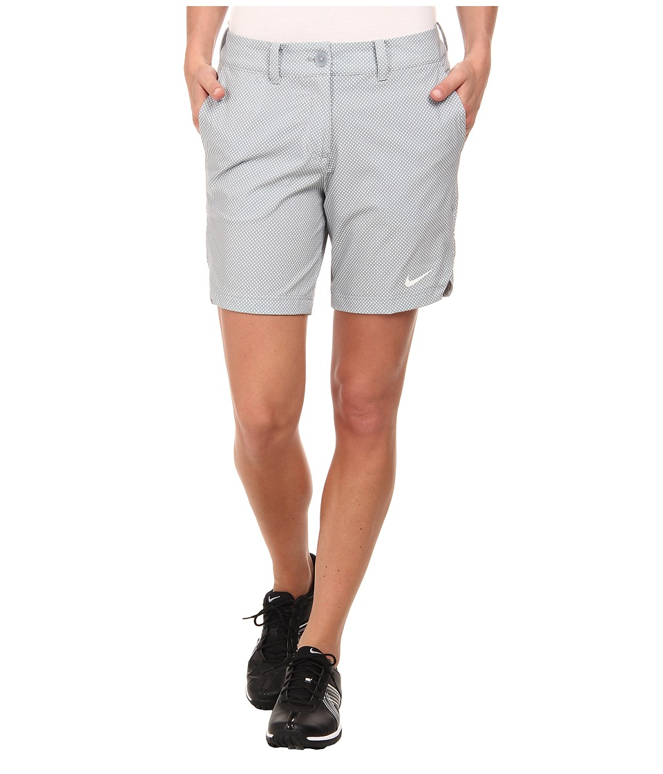 Nike Golf - Greens Dot Short (Dove Grey/White/White) Women's Shorts
