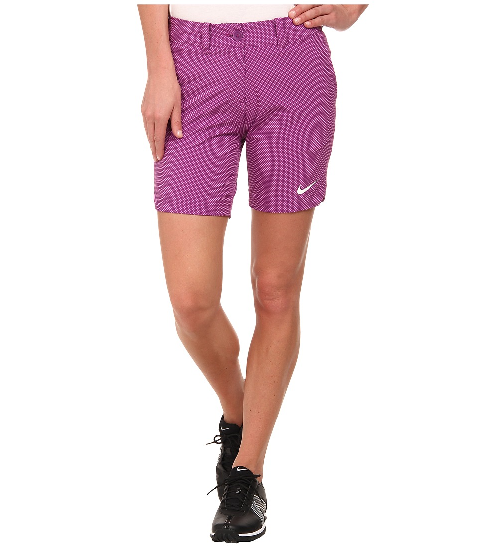 Nike Golf - Greens Dot Short (Bold Berry/Violet Shock/White) Women's Shorts