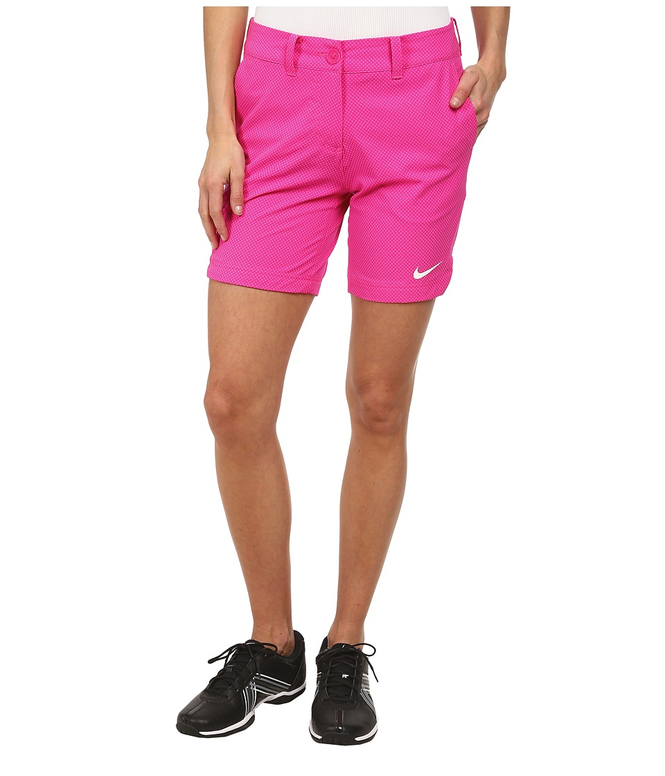 Nike Golf - Greens Dot Short (Hot Pink/Pink Pow/White) Women's Shorts