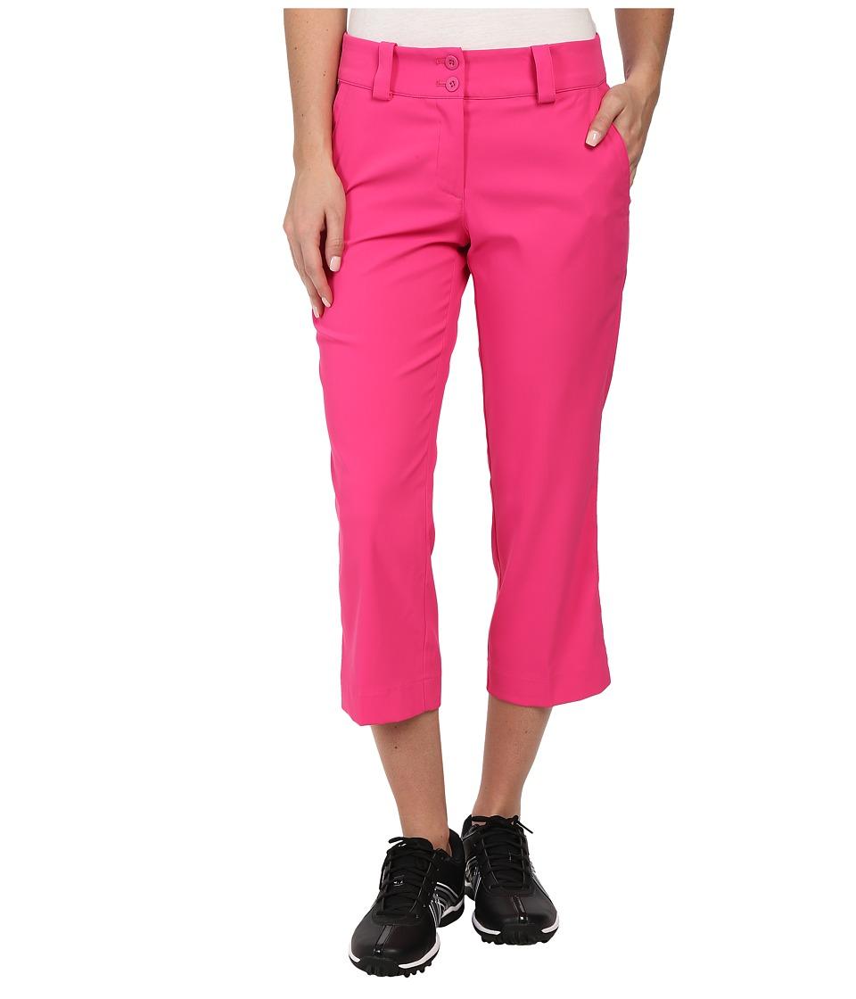 Nike Golf - Modern Rise Tech Crop Pant (Hot Pink/Hot Pink) Women's Capri