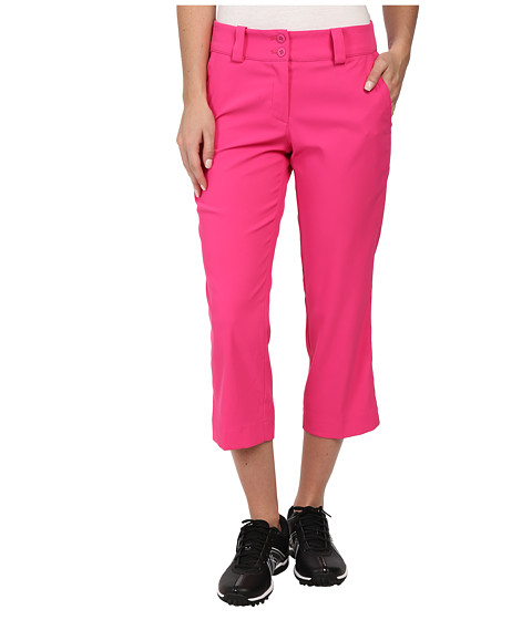 Nike Golf - Modern Rise Tech Crop Pant (Hot Pink/Hot Pink) Women