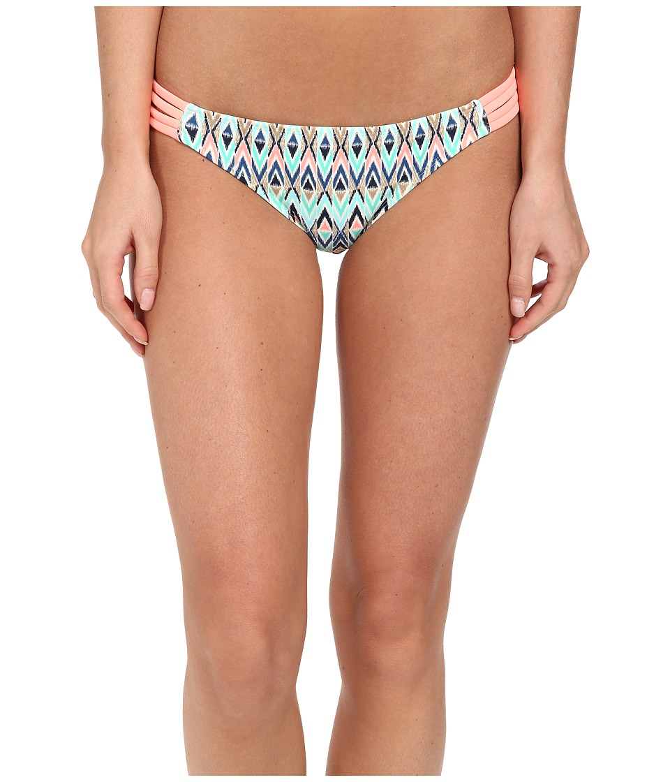 Body Glove - Tarahiki Flirty Surfer Rider Bottom (Lagoon) Women's Swimwear