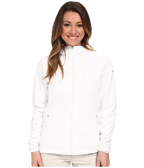 Nike Golf - Windproof Anorak (White/White/Dove Grey) Women's Coat