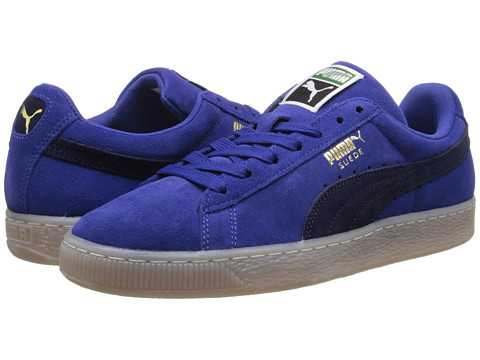 PUMA - Suede Classic Coastal (Mazarine Blue/Peacoat) Athletic Shoes
