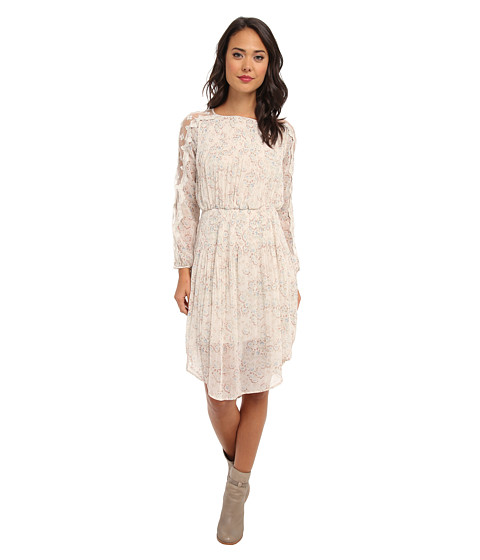 Free People - Charlotte Dress (Alabaster Combo) Women's Dress