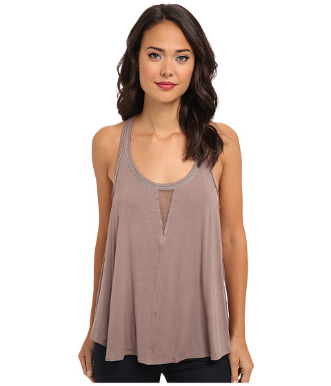 Free People - Dare Devil Tank (Taupe) Women