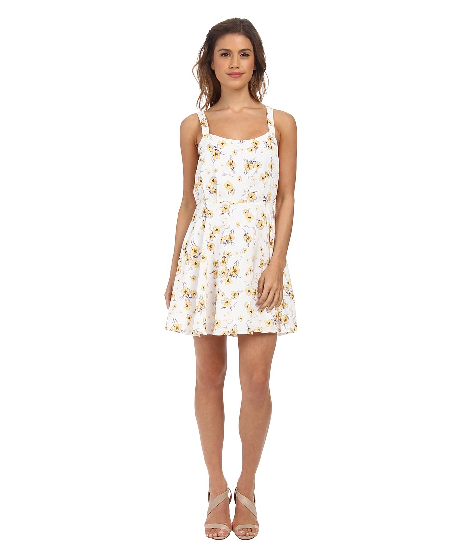 Gabriella Rocha - Natalia Spring Tank Dress (Yellow Blossom) Women's Dress