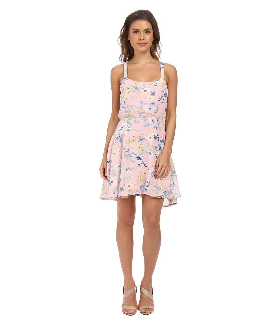 Gabriella Rocha Natalia Spring Tank Dress (Peach Floral) Women