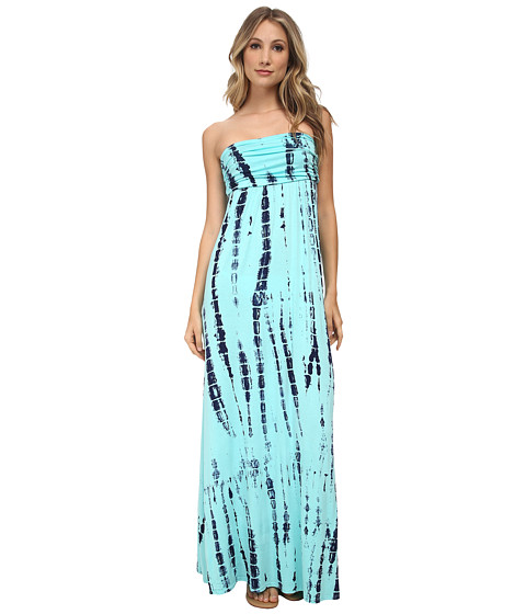Culture Phit - Hally Dress (Aqua Tie-Dye) Women