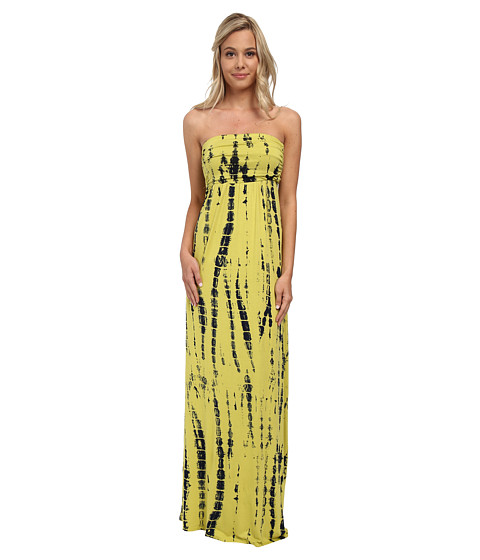 Culture Phit - Hally Dress (Lime Green Tie-Dye) Women's Dress