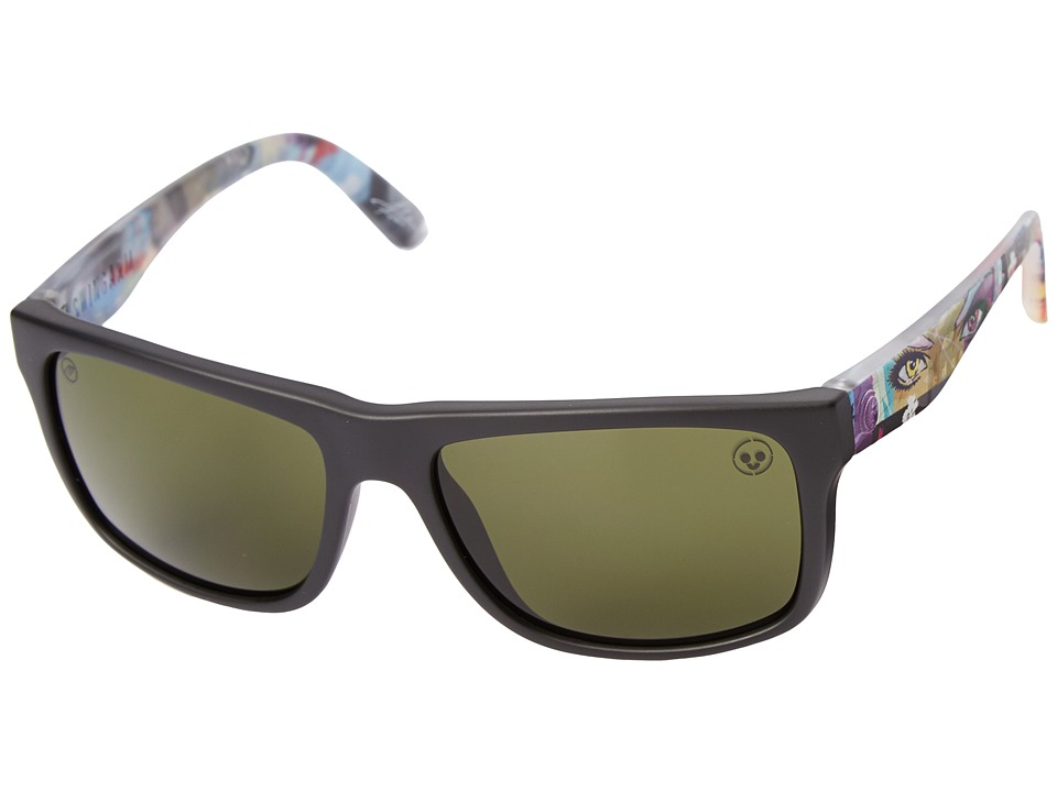Electric Eyewear - Swingarm (James Haunt 2.0/Melanine Grey) Sport Sunglasses