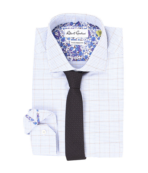 Robert Graham - X Tailored Fit Potenza Dress Shirt (Blue) Men