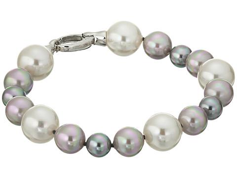 Majorica - 8/10/12mm G N W SS Bracelet 8 (Silver/Multi) Bracelet