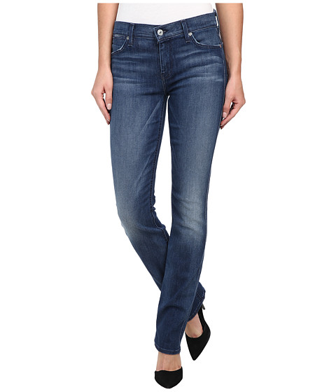 7 For All Mankind - The Modern Straight in Summit Blue (Summit Blue) Women's Jeans