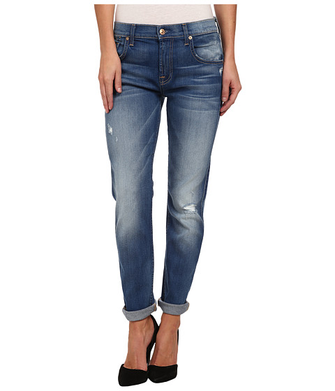 7 For All Mankind - Relaxed Skinny in Bright Skies Blue (Bright Skies Blue) Women's Jeans