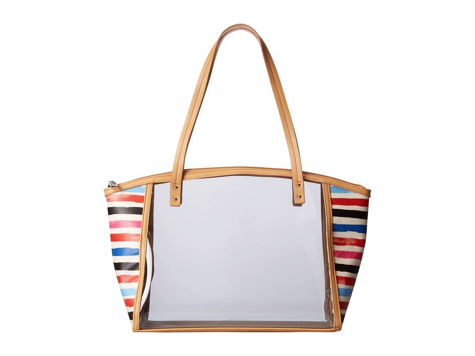 Relic - Caraway Clear Medium Tote (White Multi) Tote Handbags