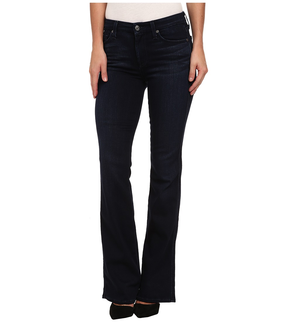 7 For All Mankind - Kimmie Bootcut in Pristine Blue Black (Pristine Blue Black) Women's Jeans