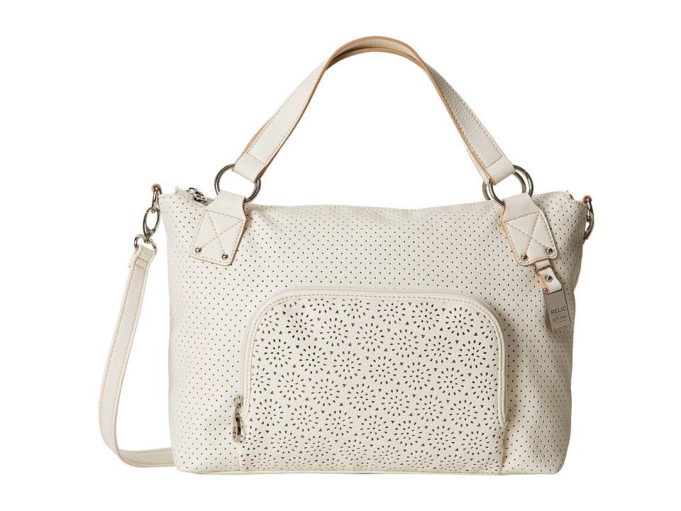 Relic - Phoebe Satchel (Egret) Satchel Handbags