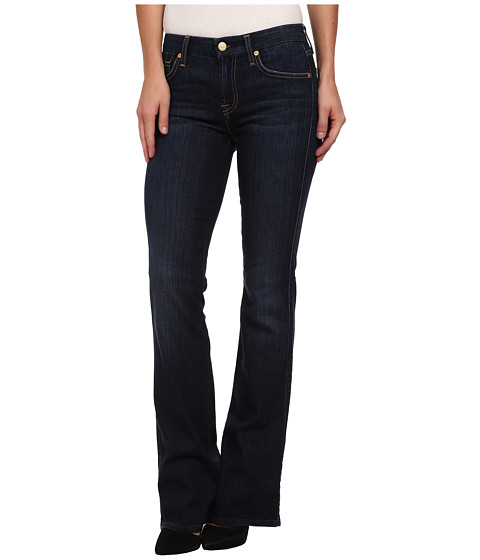 7 For All Mankind - Kimmie Bootcut in Dark Royale Rinse (Dark Royale Rinse) Women
