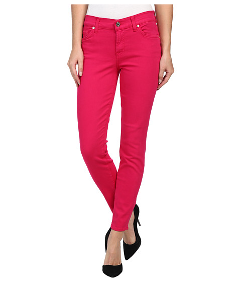7 For All Mankind - The Ankle Skinny in Paradise Pink (Paradise Pink) Women