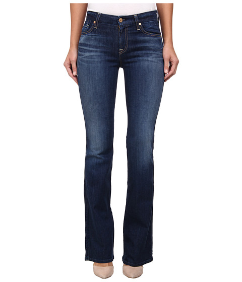 7 For All Mankind - Kimmie Bootcut in Lovely Medium Blue (Lovely Medium Blue) Women