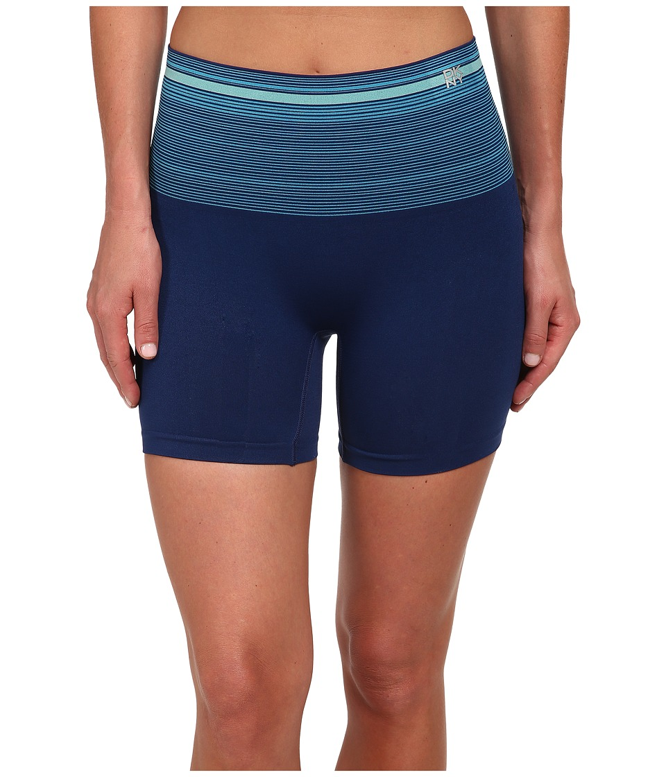 DKNY Intimates - Fusion Sport Smoothies Shortie (Stripe Love Navy Yard) Women