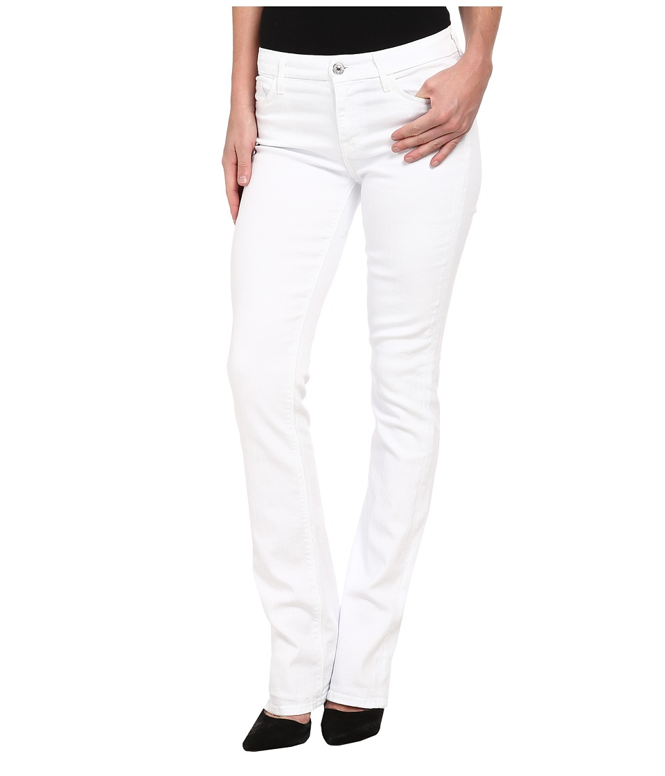 7 For All Mankind - Skinny Bootcut in Clean White (Clean White) Women's Jeans