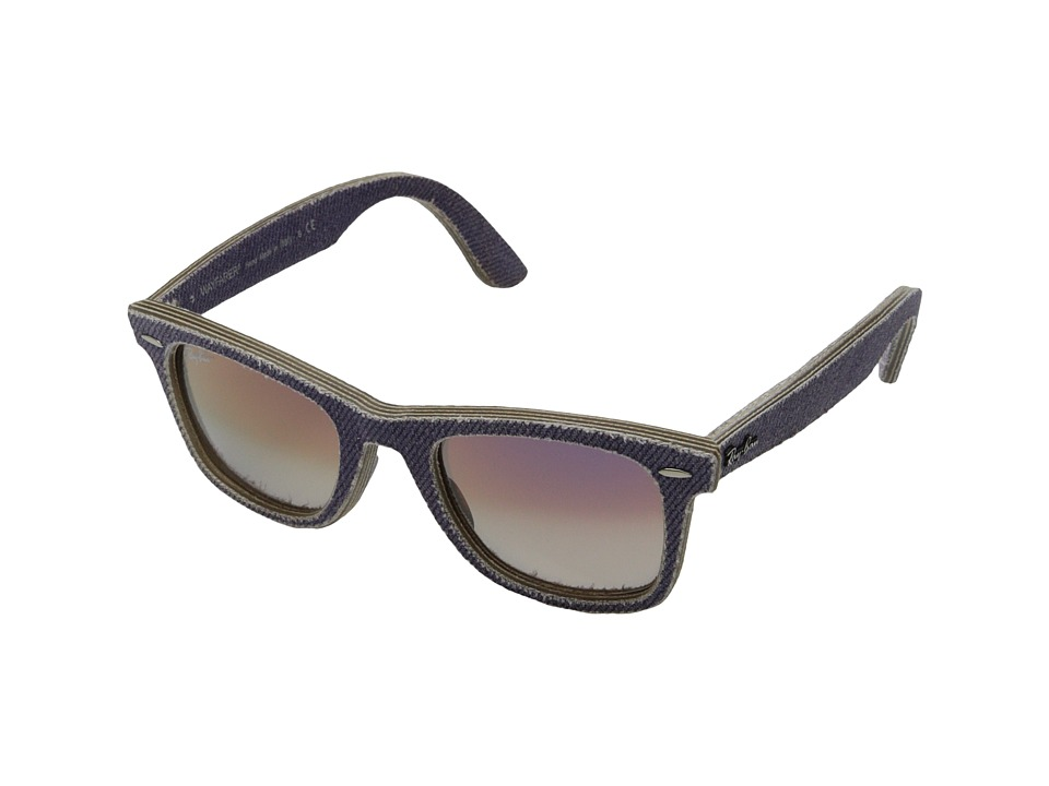 Ray-Ban - RB2140 50mm (Denim Violet) Fashion Sunglasses