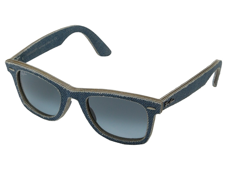 Ray-Ban - RB2140 50mm (Denim Light Blue) Fashion Sunglasses