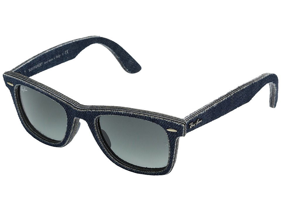 Ray-Ban - RB2140 50mm (Blue Denim) Fashion Sunglasses