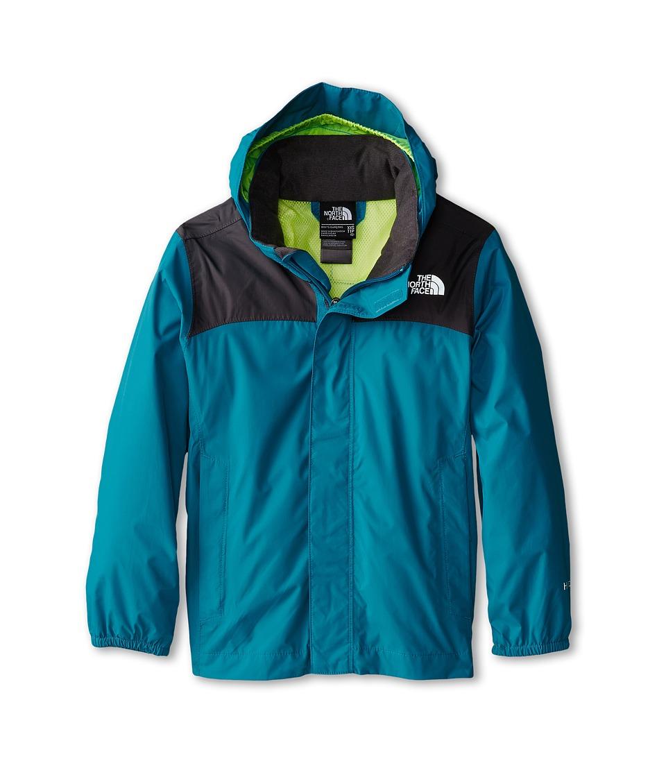 The North Face Kids - Resolve Reflective Jacket (Little Kids/Big Kids) (Enamel Blue) Boy