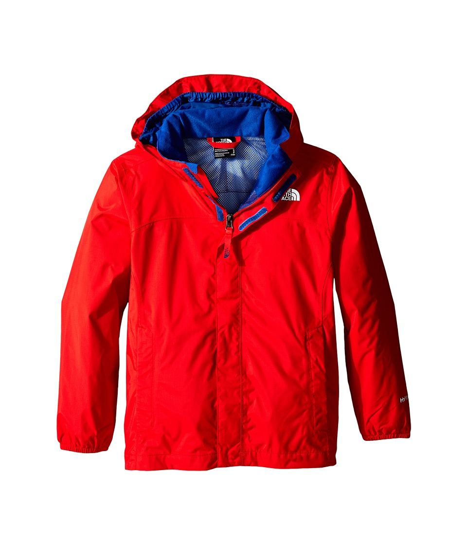 The North Face Kids - Resolve Reflective Jacket (Little Kids/Big Kids) (Fiery Red) Boy's Coat