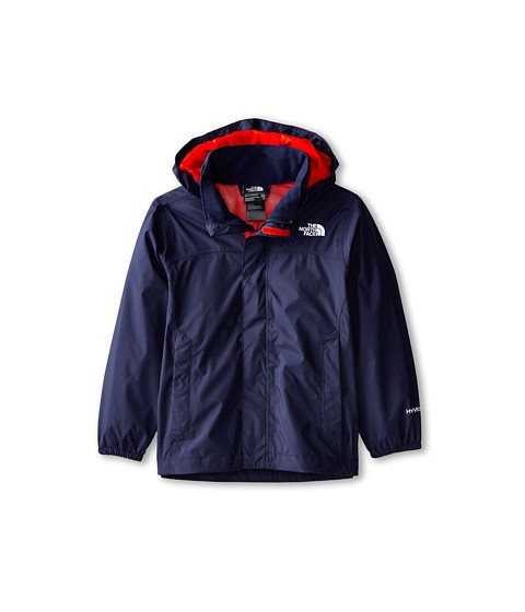 The North Face Kids - Resolve Reflective Jacket (Little Kids/Big Kids) (Cosmic Blue/Fiery Red) Boy