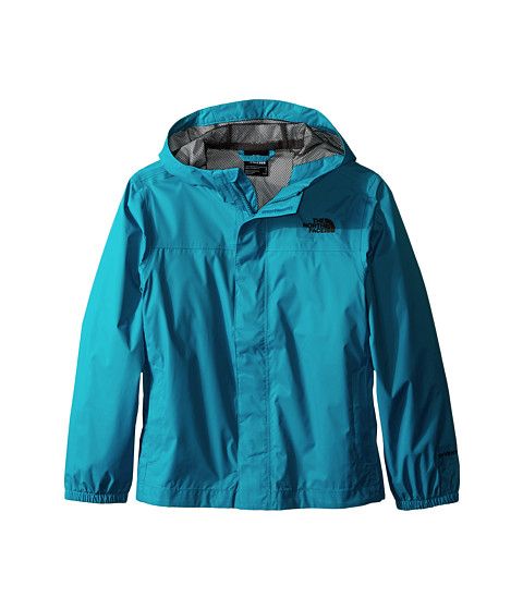 The North Face Kids - Zipline Rain Jacket (Little Kids/Big Kids) (Enamel Blue) Boy