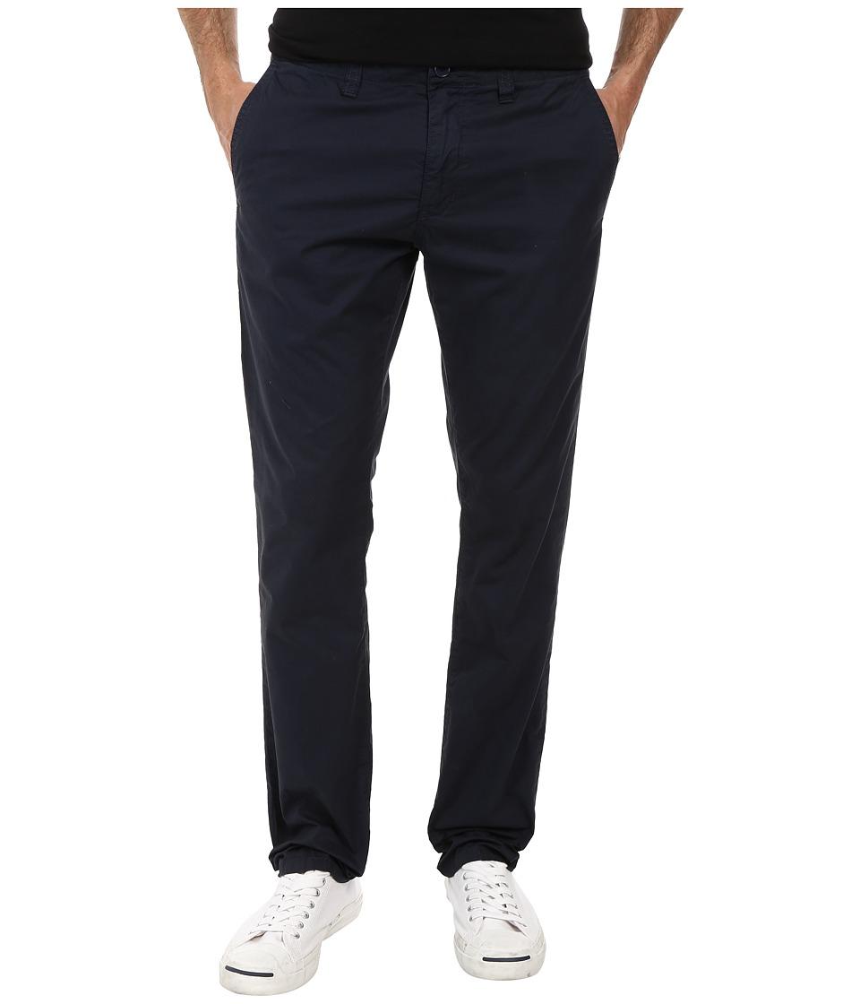 John Varvatos Star U.S.A. - Slim Fit Casual Sport Pant with Flap Back Pockets (Indigo) Men
