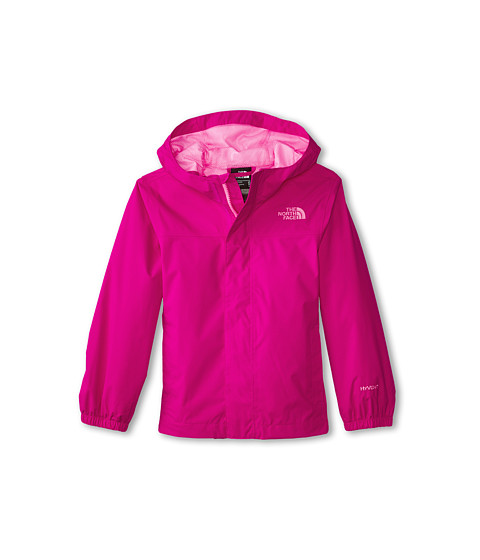 The North Face Kids - Girls' Zipline Rain Jacket (Little Kids/Big Kids) (Luminous Pink) Girl's Coat