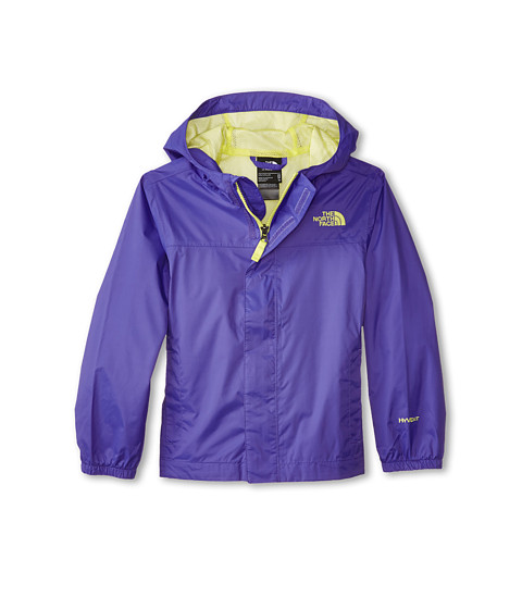 The North Face Kids - Girls' Zipline Rain Jacket (Little Kids/Big Kids) (Starry Purple) Girl's Coat