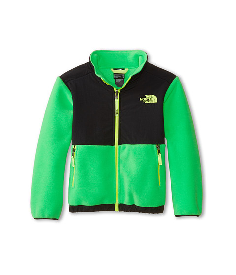 The North Face Kids - Denali Jacket (Little Kids/Big Kids) (Recycled Krypton Green) Boy's Coat