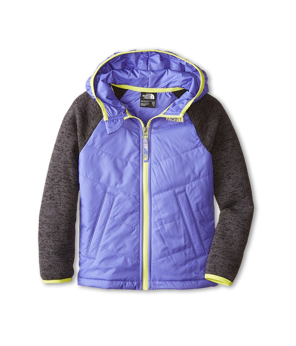 The North Face Kids - Quilted Sweater Fleece Hoodie (Little Kids/Big Kids) (Starry Purple) Girl's Sweatshirt