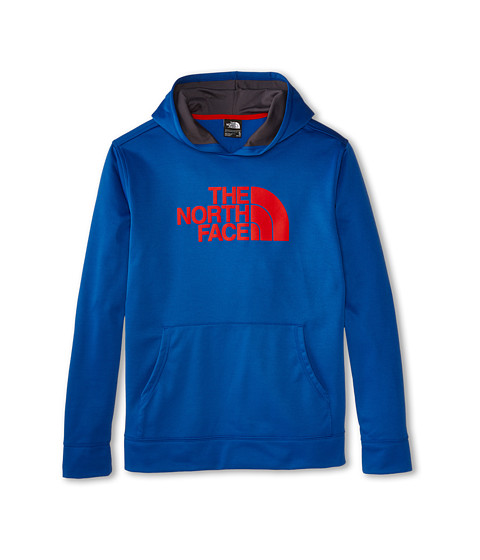 The North Face Kids - Boys' Logo Surgent Pullover Hoodie (Little Kids/Big Kids) (Monster Blue) Boy's Sweatshirt
