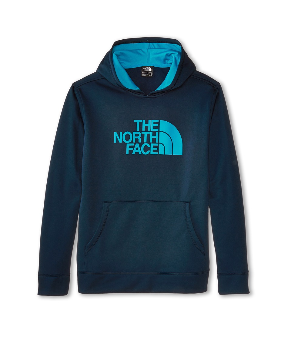The North Face Kids - Boys' Logo Surgent Pullover Hoodie (Little Kids/Big Kids) (Cosmic Blue) Boy's Sweatshirt